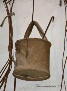 secchio in tela utilizzato dalle truppe americane