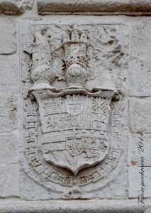 Stemma della casa regnante Spagnola (Filippo IV e Carlo II)