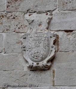 Stemma di Inigo Velèz de Guevara y Taxis, conte di Onatte e Villa Mediana 1.