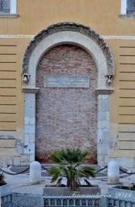Archivolto del Palazzo di Federico II