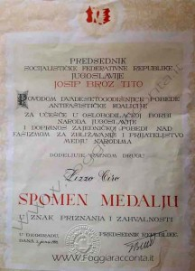 Documento Iugoslavia