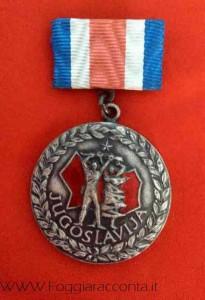 Medaglia Iugoslavia