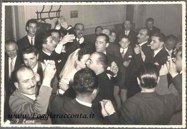 Foto di Famiglia Brescia Romeo - Festa di matrimonio 1950