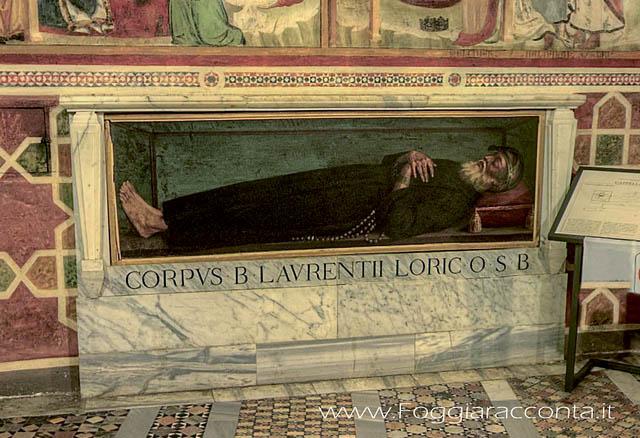 blaženi Lovrenc Loricat - puščavnik