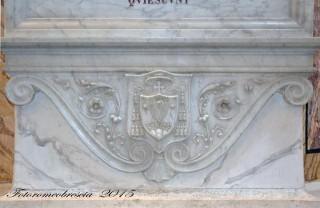 Basilica Cattedrale – Stemma del vescovo mons. Frascolla