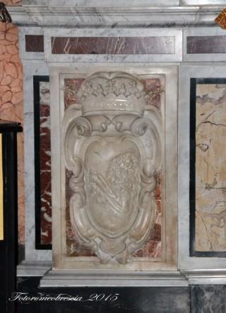 Basilica Cattedrale – stemma della famiglia Brancia