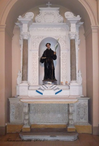 Chiesa della SS. Annunziata – altare dedicato a S. Antonio