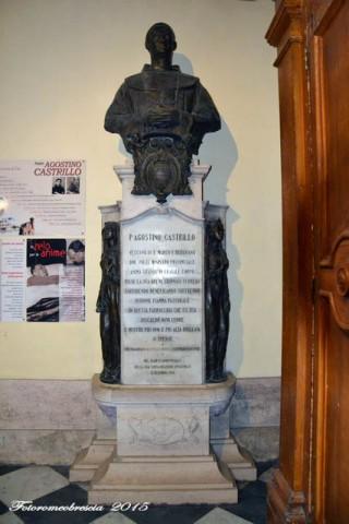 Chiesa di Gesù e Maria – Mausoleo di mons. Agostino Castrillo
