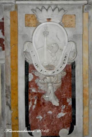 Chiesa di Gesù e Maria – stemma della famiglia Cito
