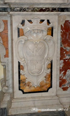 Chiesa di Gesù e Maria – stemma della famiglia Rosati