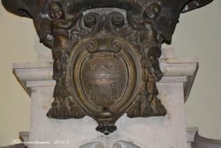 Chiesa di Gesù e Maria – stemma di mons. Agostino Castrillo