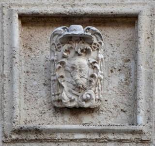 Chiesa di S. Agostino – stemma di mons. Adeodato Summantico