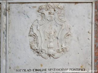 Stemma del vescovo mons. Nicola Cimaglia
